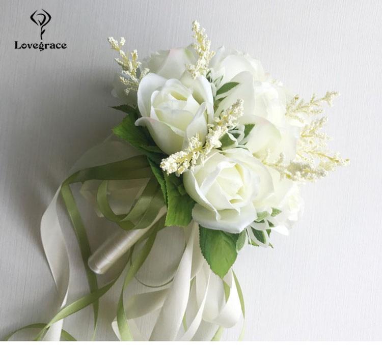 wedding bouquet for bridal bridesmaid flowers (6)