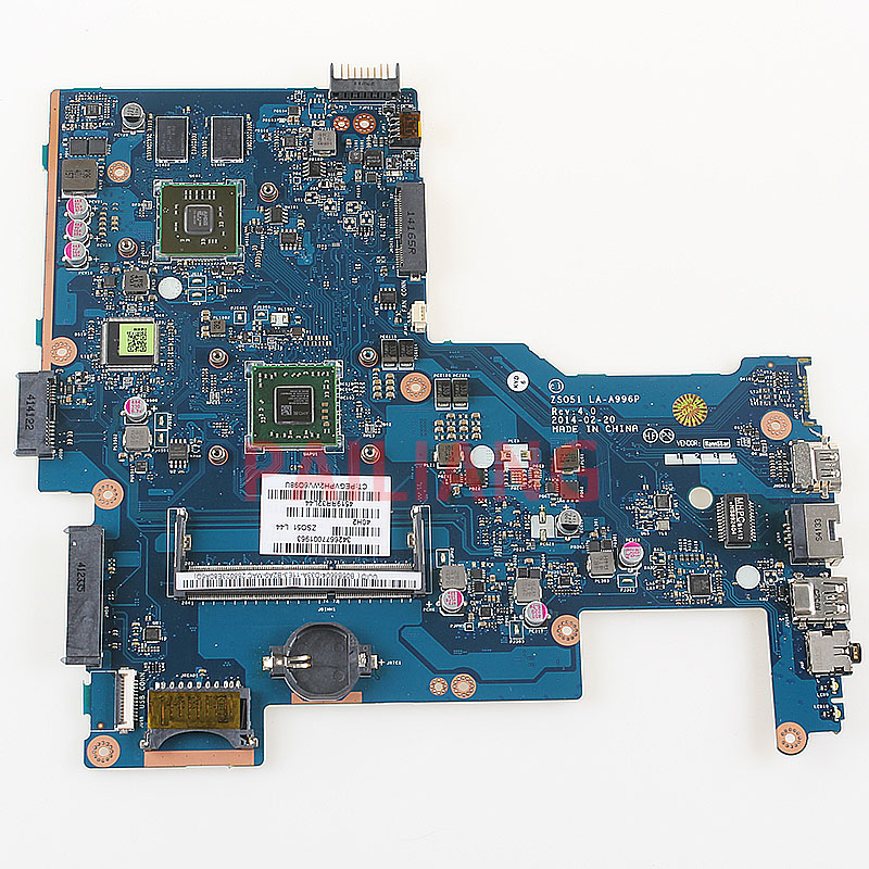 PAILIANG Laptop motherboard for HP 15 G PC Mainboard ZS051 LA A996P full tesed DDR3