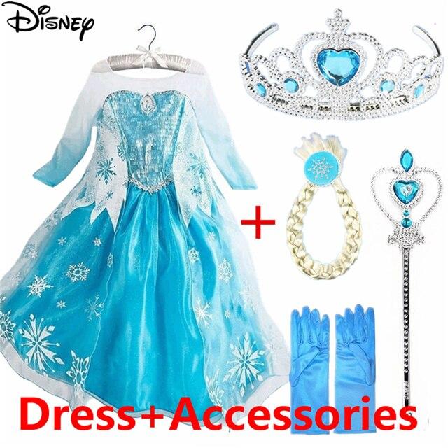 Best Price #4f5f - Disney Frozen Elsa Dress Anna Girl's Dresses