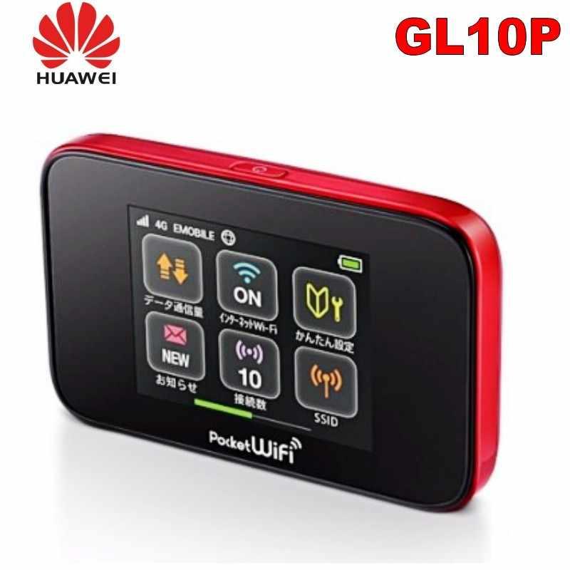 Desbloquear 4g roteador wi-fi com slot para cartão sim huawei gl10p 4g roteador wi-fi sem fio portátil