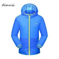 Dimusi erkekler quicky kuru ultralight ceket rüzgarlık ceket su geçirmez uv clothing erkek cilt güneş kremi softshell ceket 5xl, ya584