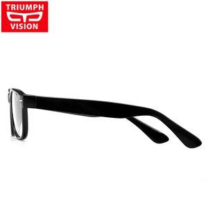 Image 4 - נצחון ראיית מותג מעצב מסגרת מסמרת מרשם משקפיים גברים Photochromic משקפיים אנטי כחול Ray מחשב משקפיים קוצר ראיה