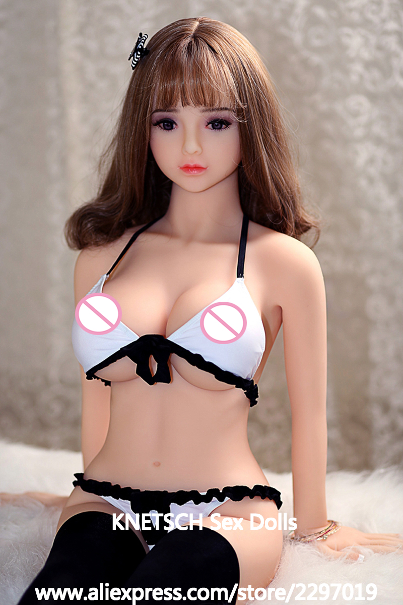 KNETSCH 140cm Real Silicone Sex Doll For Men Japanese Love Doll Big Breast Big Ass Real Realistic Female Vagina TPE Sex Dolls
