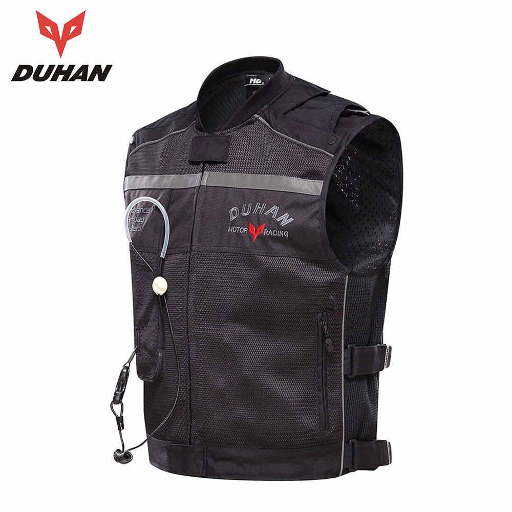 DUHAN-gilet à Air comprimé pour Moto, système de protection, équipement réfléchissant, Airbag pour motocyclette pour hommes
