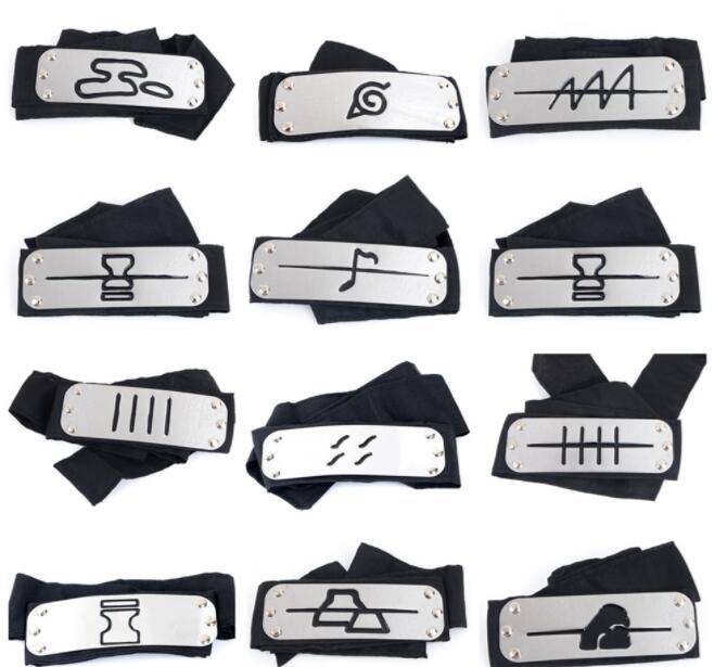Costume Accessory Anime Cosplay Naruto Headband Anime Props Hot Itachi/Akatsuki/Madara/Jiraiya/Kakashi headband Free shipping