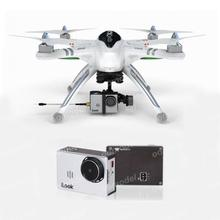 Walkera QR X350Pro W/ Devo 7 Radio/battery/charger/G-2D Gimbal/Ilook+ HD Camera RTF FPV Drone Quadcopter Free Express Shipping