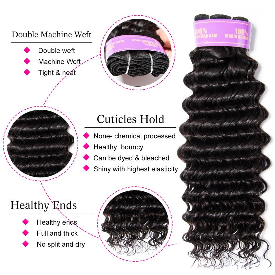 Mscoco Hair Brazilian Deep Wave Bundles With Closure 5x5 Closure With Bundles Remy Human Hair Mscoco Hair Brazilian Deep Wave Bundles With Closure 5x5 Closure With Bundles Remy Human Hair 6x6 Closure And Bundles M Ratio