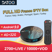 1 Year IPTV France Arabic Portugal Turkey DATOO HK1 MAX Android 9.0 BT Dual-Band WIFI Italy