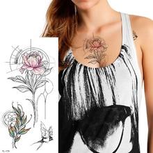 Wyprzedaż Geometric Rose Tattoo Galeria Kupuj W Niskich