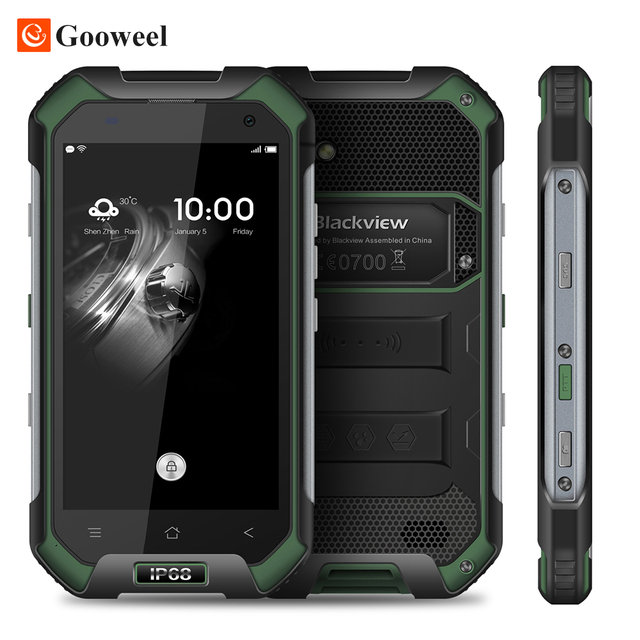 "Original Blackview BV6000S Smartphone 4G Waterproof IP68 4.7"" HD MT6737 Quad Core Android 6.0 Mobile cell Phone 2GB +16GB 13MP"