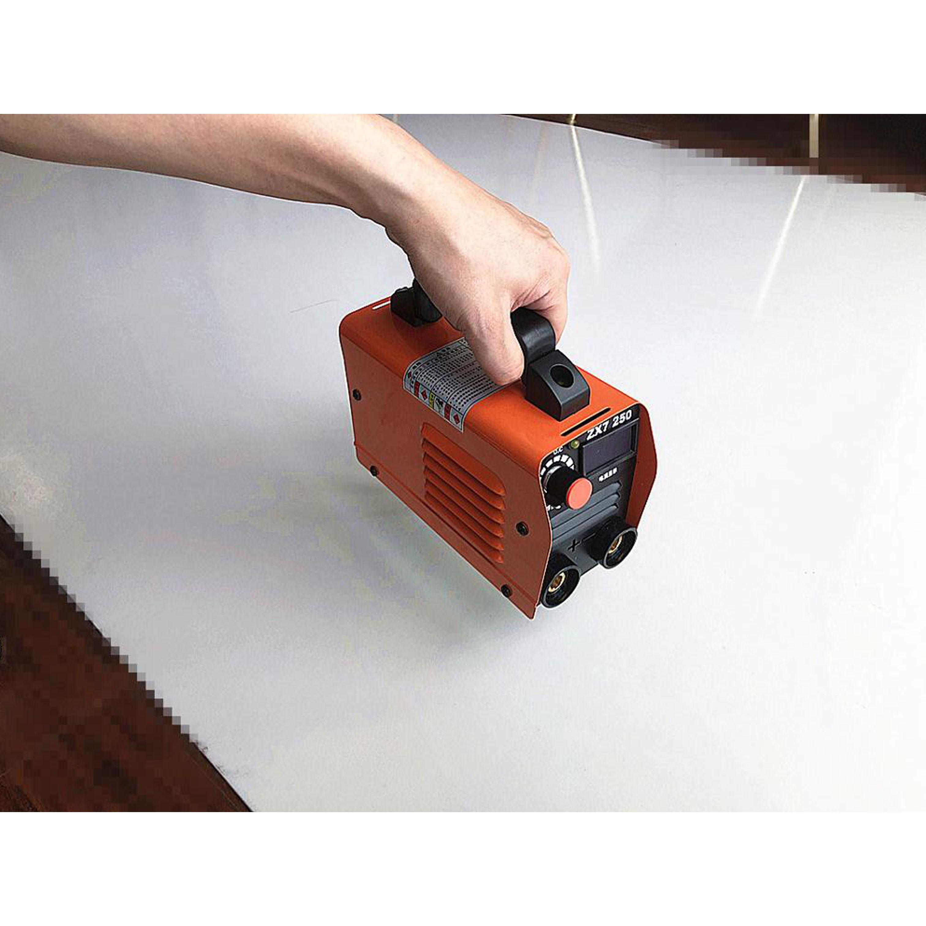 RU lieferung 250V Kompakte Mini MMA Schweißer Inverter ARC Schweißen Maschine Stick Schweißer