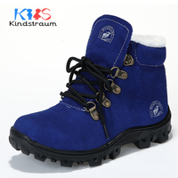 Kindstraum Winter Fashion Boys Winter Shoes Super Warm Kids Brand Style Cotton Casual Boots Children Sports