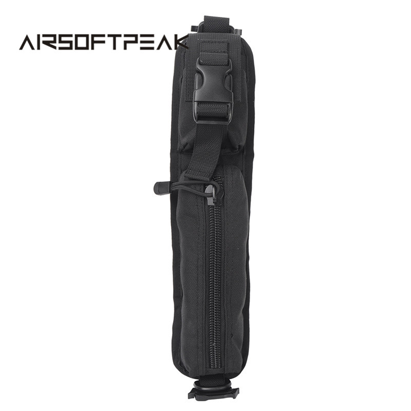 AIRSOFTPEAK Tactical Molle Sundries აქსესუარი Pouch Backpack Shoulder Strap Bag Rucksack Belt EDC Tools Pouches