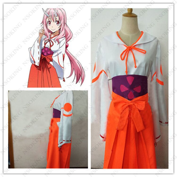 Anime Tensei Shitara Slime Datta Ken Shuna Cosplay Costume That Time I Got Reincarnated as a Slime Tailor Made