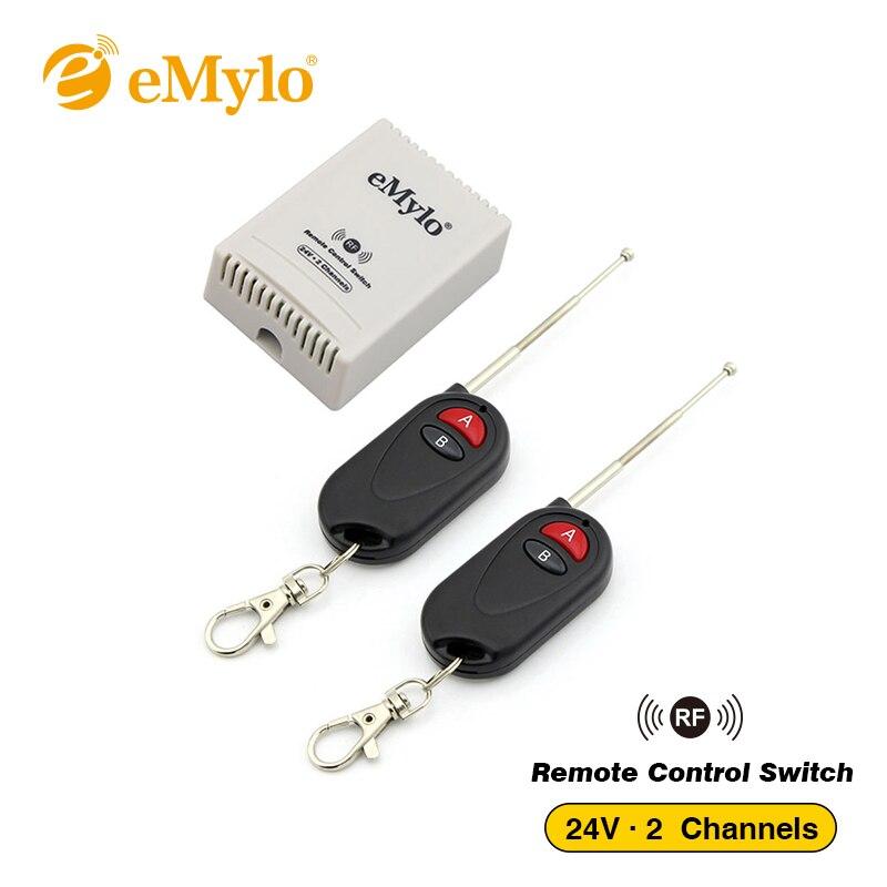 EMylo DC24V Smart Wireless Schalter, RF Fernbedienung Licht Lampe ...