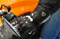 New Revit Alaska Winter Warm Waterproof Windproof Protective Motorcycle Gloves Motorbike Riding Genuine Leather Moto Ski