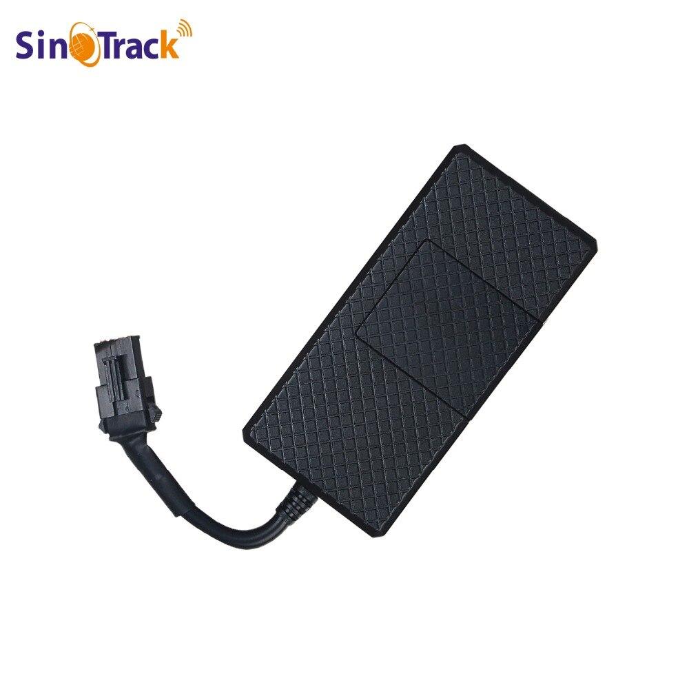Coche GPS Tracker TK06A SMS GSM GPRS vehículo Dispositivo de rastreo GT02A Monitor de Control remoto para Scooter de motocicleta sistema