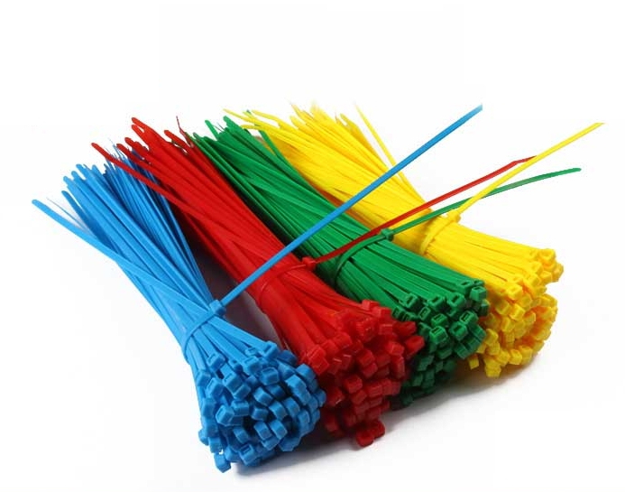 5*300mm Self-Locking Nylon Cable Ties 100Pcs/Pack Colorful Cable Zip Tie Loop Ties for Wires Tidy