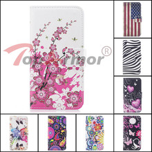 TopArmor 14 styles PU Leather Painted Shell For Motorola Moto E