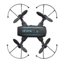 Saleaman мини Радиоуправляемый Дрон с 2,4 г 720 P Камера Wi-Fi FPV Складная высота Удержание Quadcopter дистанционного Управление вертолет игрушки радиоуправляемый Дрон