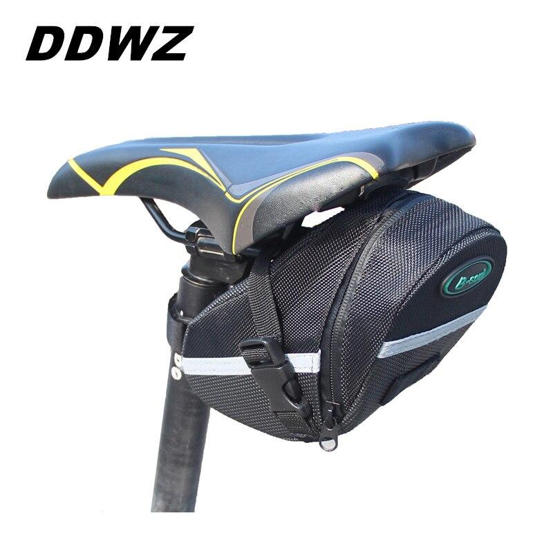 Neue Ankunft B-SOUL Outdoor Radfahren Mountainbike Fahrrad Wasserdichte Satteltasche Schnellverschluss Back Seat Hecktasche Paket