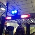 10pcs X Safety Blue point led work light 10w 10-80v LED forklift warning lights, bule light forklift  free shipping