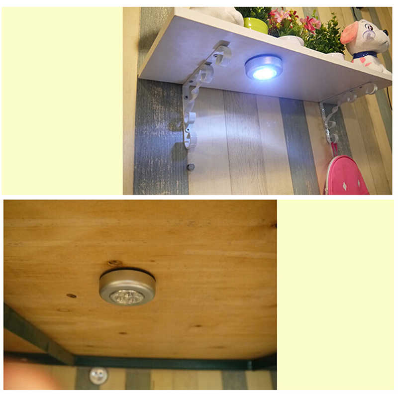 Mini 3 LED Wall Light Induction Lamp Night Light  Body Motion Sensor Activated Closet Corridor Cabinet Led Light