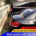 메르세데스-벤츠 w212 e320 e260l e300l e63 2008 ~ 2015 벤츠 300 용 프라이머로 고품질 abs 소재 리어 트렁크 스포일러