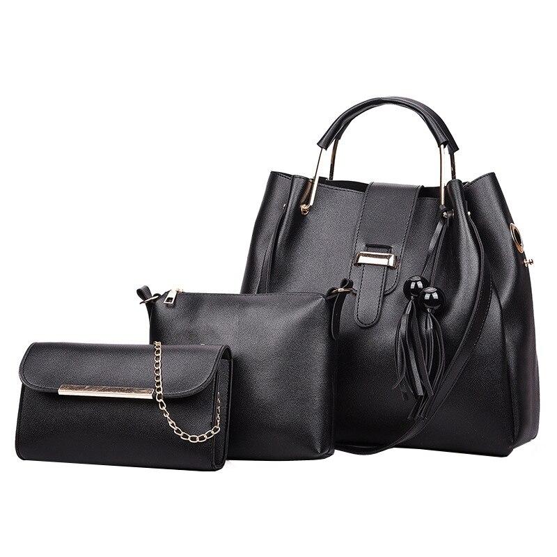 Imitation Leather Shoulder Bags