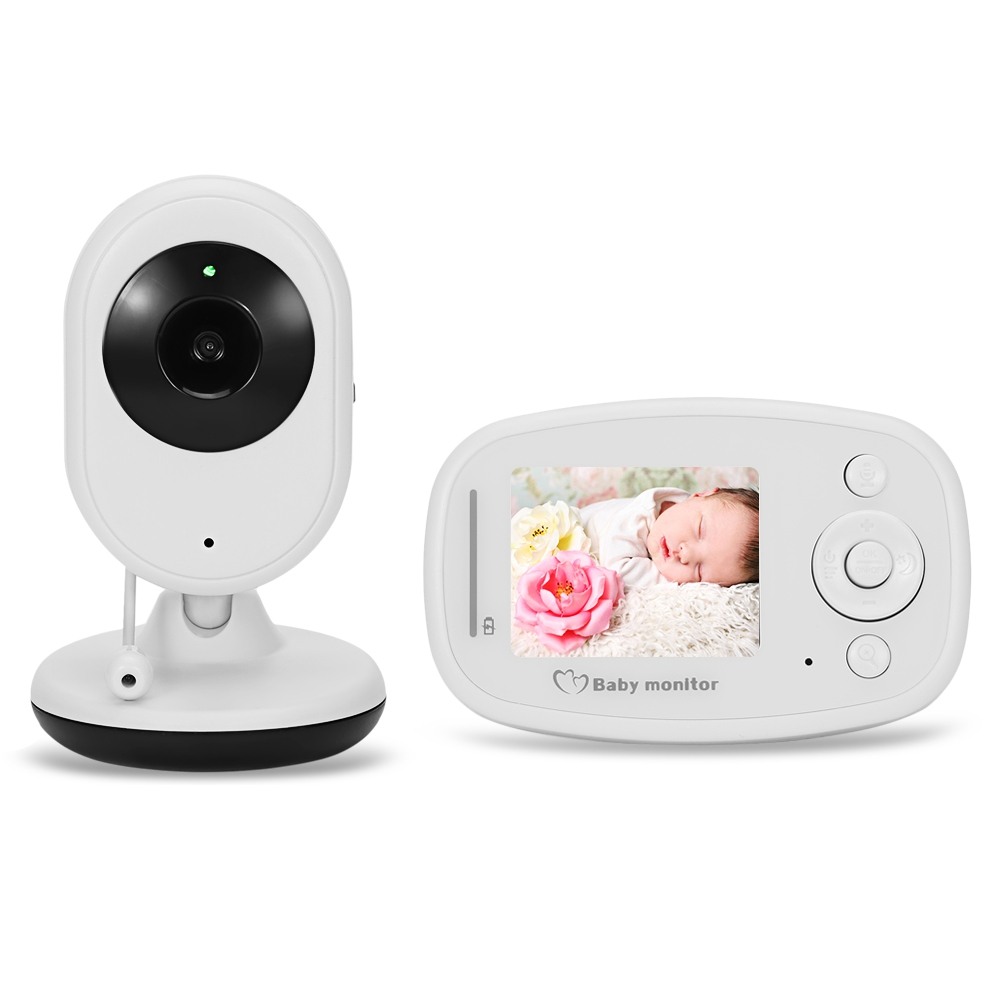 2.4GHz Infant Baby Sleep Monitor Wireless Night Vision Camera Baby Babysitter digital Video Temperature Display Radio Nanny