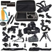 JACQUELINE for Outdoor Sports Accessories Kit for Sony Action Cam HDR AS30V AS300 AS100V AS50 AS200V FDR-X100V/W 4K AZ1 Mini
