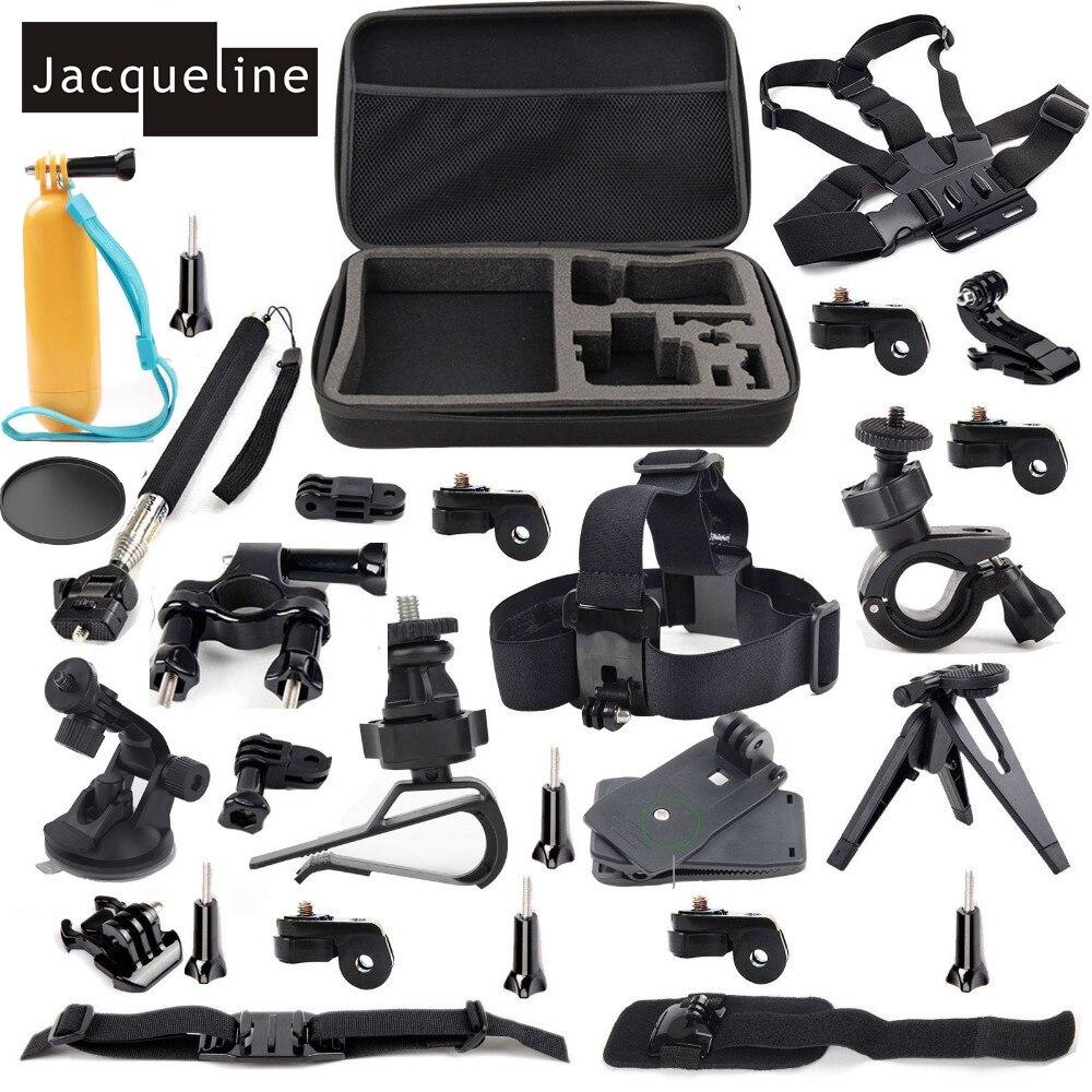 Jacqueline para deportes al aire libre Kit de accesorios para Sony acción CAM HDR AS30V AS15 AS20 AS100V AS200V FDR-X100V/W 4 K AZ1 mini