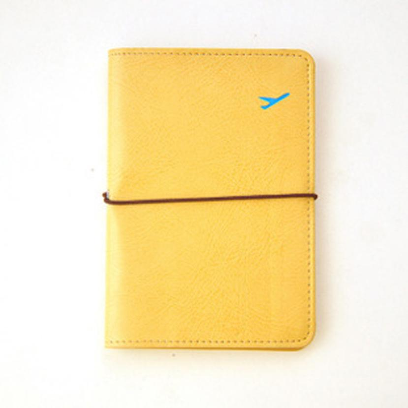 New Travel Leather Passport Holder Card Case Protector Cover Wallet Bag Designer Wallets ...