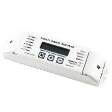 Bc-820 Dmx To Spi Signal Decoder Convertor Dmx512 Lpd6803 8806 Ws2811/ 2801 Ws2812B 9813 Led Pixel Light Controller Dc5V-24V