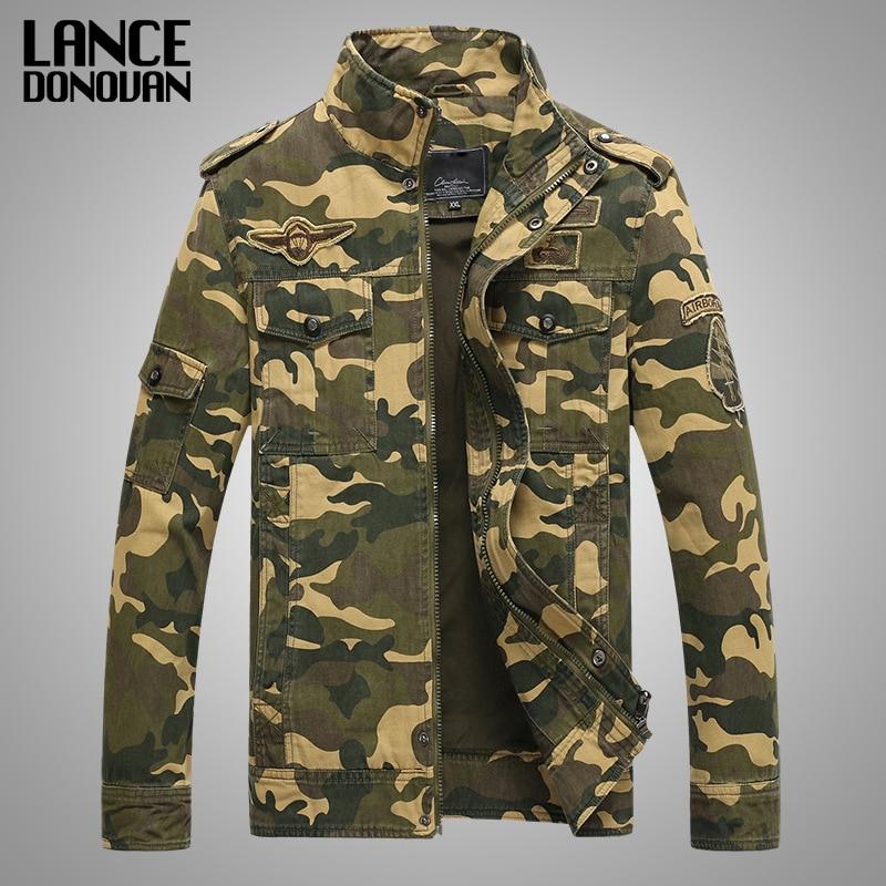 Army Military jacke männer camouflage Tactical Camouflage lässige fashon bomber Jacken