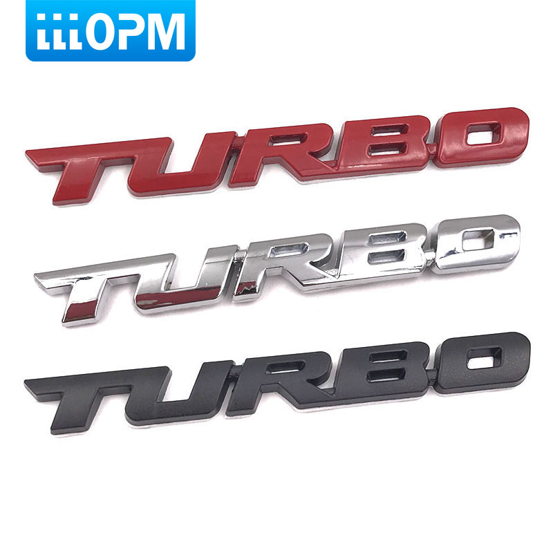 3D Emblem TURBO METAL GRILL Rear Trunk Car Badge car sticker for Audi BMW Ford focus VW skoda seat Peugeot lada Renault Hyundai metal red st front grille sticker car head grill emblem badge chrome sticker for ford fiesta focus mondeo auto car styling