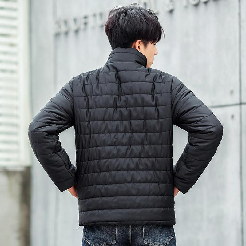 Vska Men Full-Zip Autumn Winter Ultra-Light Packable Stand Collar Down Coat