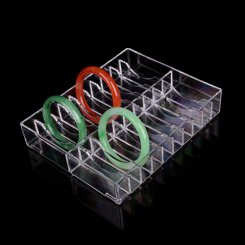 New Clear Make Up Organizer Acrylic Cosmetic Makeup Bracelet Holder Storage Box Large Cabinet Powder Display Shelf Jewelry Box
