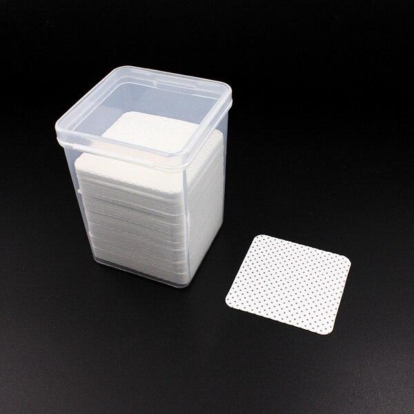 by dhl 100boxes 170pcs box eyelash glue Remover Cotton Wipes UV Gel Nail Tips Polish Remover