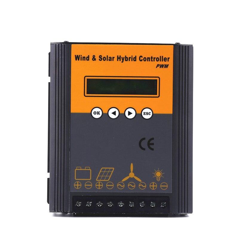 High quality 48V PWM wind solar hybrid charge controller with 500w wind 800w solarHigh quality 48V PWM wind solar hybrid charge controller with 500w wind 800w solar