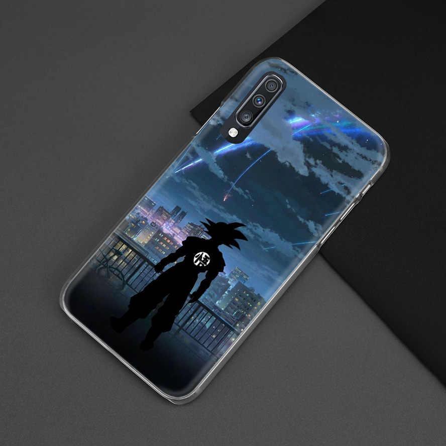 Anime Dragon Ball Ốp Lưng Dành Cho Samsung Galaxy Samsung Galaxy A50 A70 A20e A40 A30 A20 A10 A8 A6 + Plus A9 A7 2018 Máy Tính Fundas Điện Thoại Coque Bao