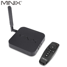 Original MINIX NEO U9-H Android 6.0.1 TV Box Amlogic S912-H Octa Core 2G/16G 802.11ac 2.4/5GHz WiFi 4K HDR IPTV Smart TV Box