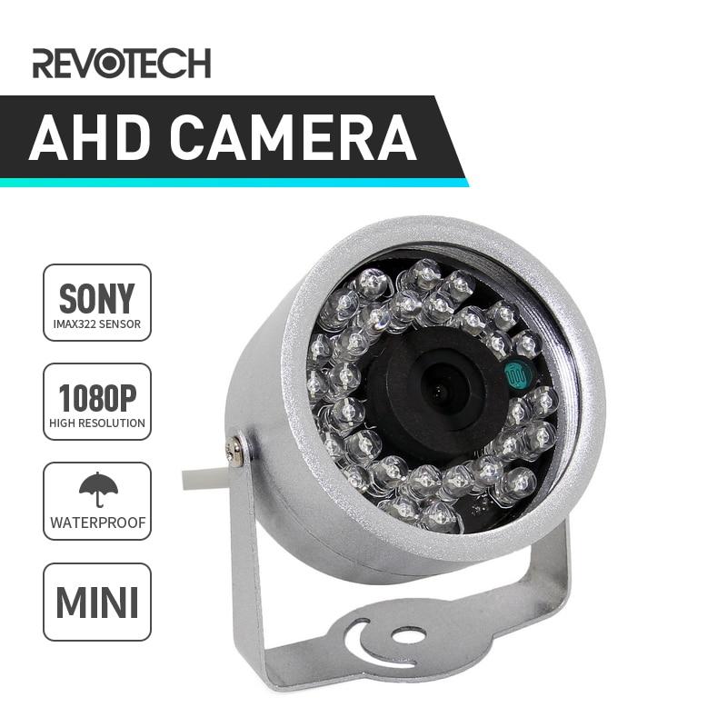 bilder für Mini wasserdichte hd 1920x1080 p 2.0mp ahd cctv-kamera sony IMX322 30LED IR Überwachungskamera Nachtsicht Im Freien Cam w/IR-Cut