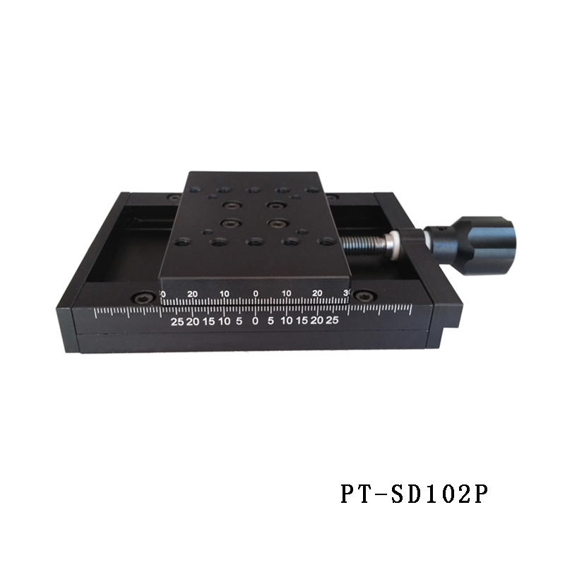 PT-SD102P/102PS X AxisManual Linear Stage, Manual Multi-axis Station, Manual Platform, Optical Sliding Table, 50mm Travel массажер нозоми мн 102