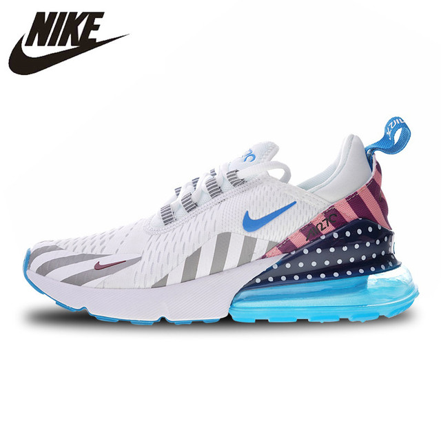 online store 117a3 22132 Nike Parra X Nike Air Max 270 Rainbow Amusement Park Running Shoes For Men  and Women AH6789-019 36-44