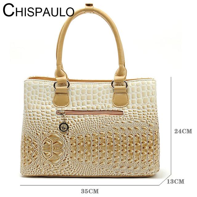 2017 Famous Brands Luxury Designer Handbag High Quality Crocodile Leather