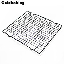 25*28 cm Metall Nicht-stick Kühlung Rack Backenwerkzeuge Brot Kühlung Rack