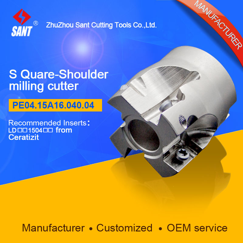 Square shoulder milling cutter Indexable insert LDMT 1504 from ceratizit disc PE04.15A16.040.04 hot selling Abroad