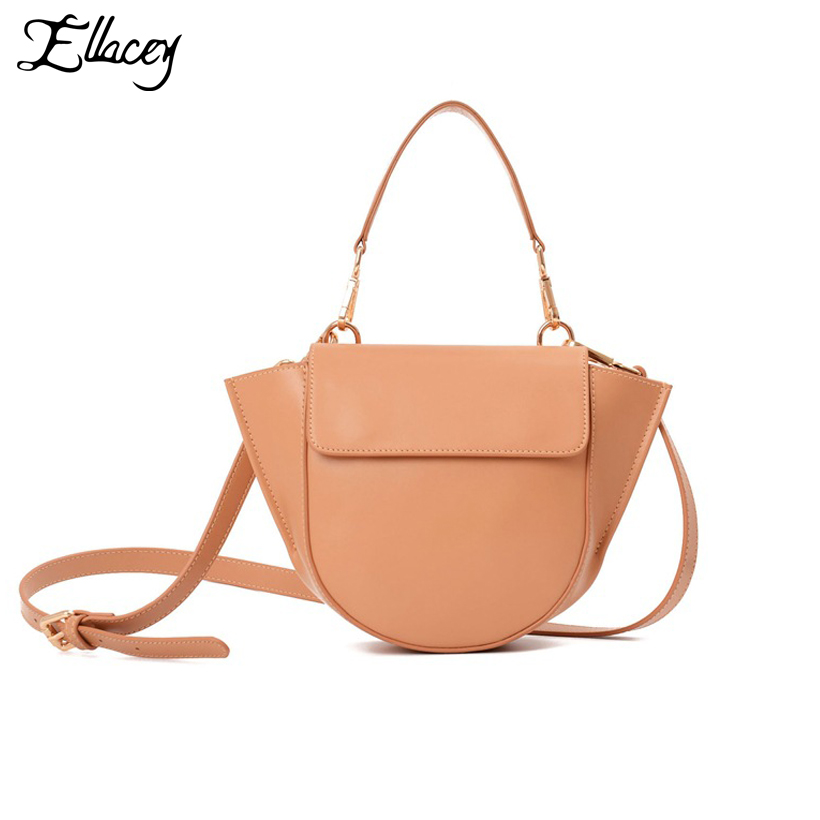 New 2018 Genuine Leather Trapeze Bag Women Luxury Brand Handbag Leather Crossbody Bags Lady Vintage Designer Messenger Bags luxury retro genuine leather lady handbag flannel inside metal decor women s bags crossbody bag