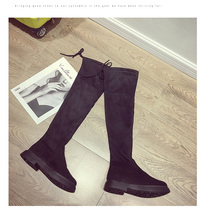 Boots women over the knee lace up fashion boots zapatos de mujer botas invierno long shoes